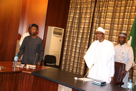 I Resumed Office Today by Photos President Buhari Resumes In His Office At Aso