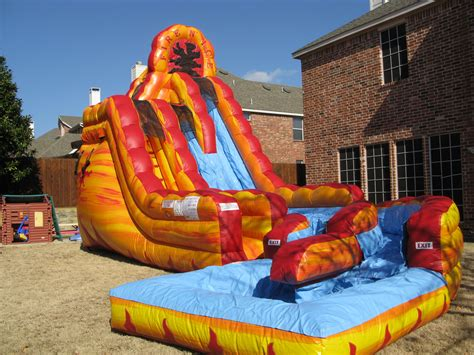 water bounce house rent a fire n ice inflatable water slide northern kentucky