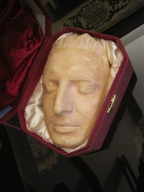 mozart born and died contemporary plaster cast of mozart s death mask eva