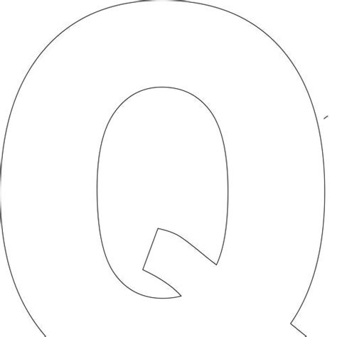 printable letter q pictures letter q template www imgkid com the image kid has it