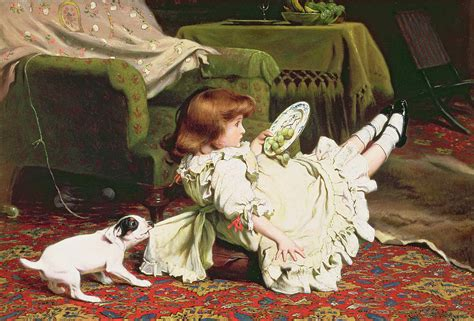 painting to play time to play charles burton barber chitra s gallery