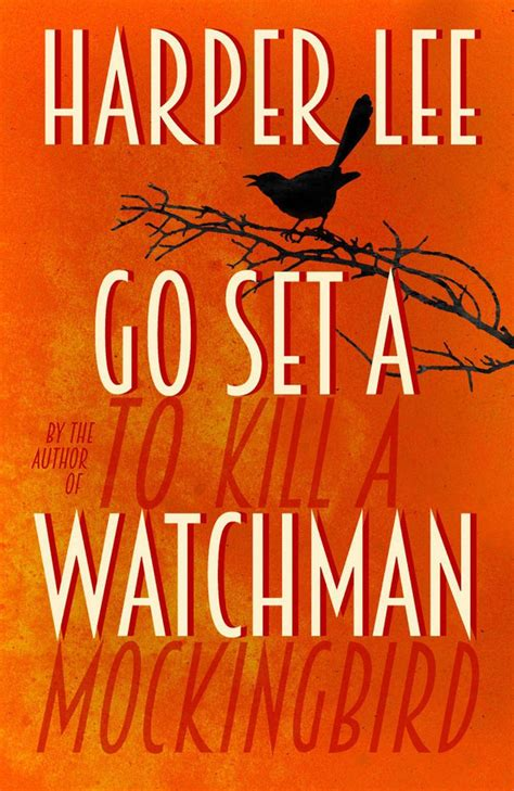 Go Set A Watchman for fans go set a watchman s cover is a trip