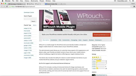 tutorial website mobile wordpress plugin make website mobile friendly