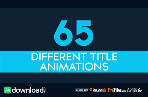 after effects free title templates download unique after effect free templates pictures exle