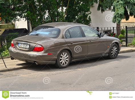 Jaguar Auto Alt by Jaguar S Type Parked Editorial Image Cartoondealer