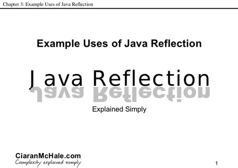 tutorial java reflection java reflection explained simply