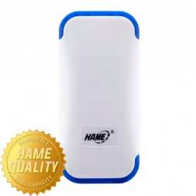 Power Bank 4400mah Hame Me12 White by Hame Power Bank 4400mah Model Hame Me12 Me12 White