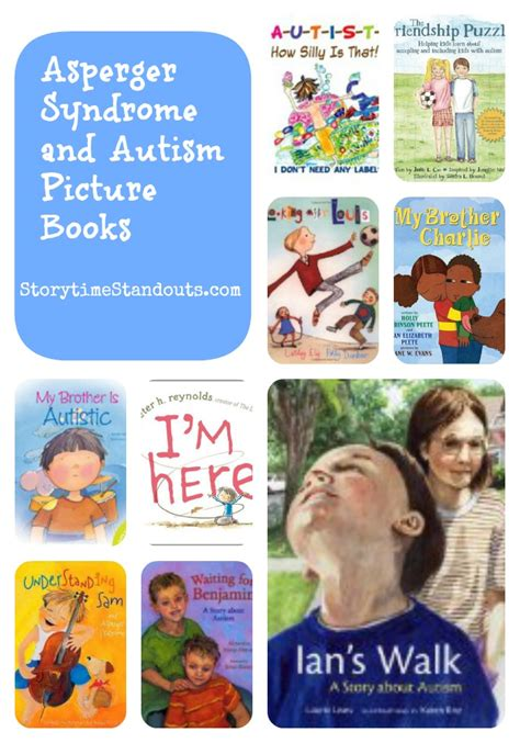 picture books for children with autism asperger and autism picture books for children