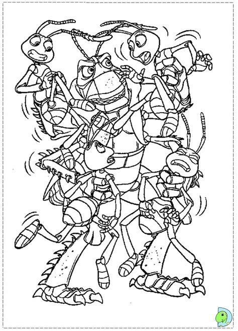 bug coloring pages disney coloring pages a bug s life