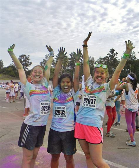 color run pomona hit the ground running voices