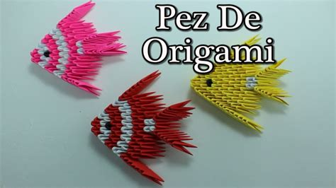 Origami 3d Fish Tutorial | free coloring pages 3d origami fish pez origami 3d 194