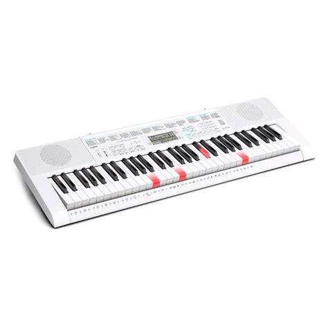 casio key lighting keyboard casio lk 247 61 key lighting keyboard white nearly new