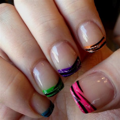 colorful nails nail colors and designs nail designs hair styles