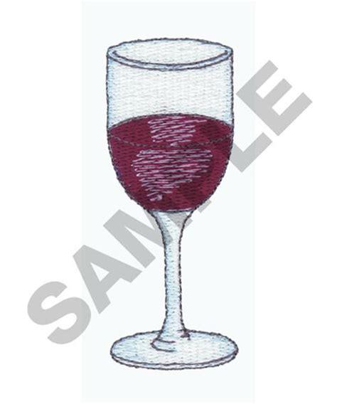 embroidery design wine glass wine glass embroidery design annthegran