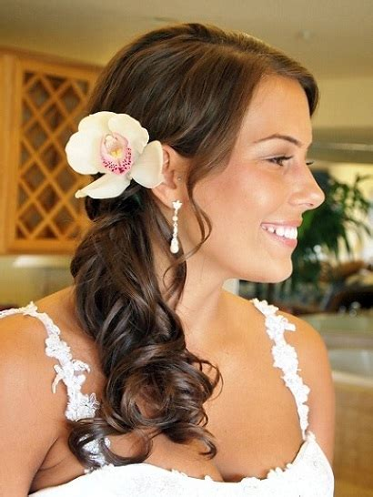 Wedding Hairstyles At The Side Side Ponytail Hairstyles Beautiful Hairstyles