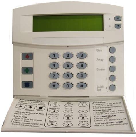 keypad security system secure your home alarm systems