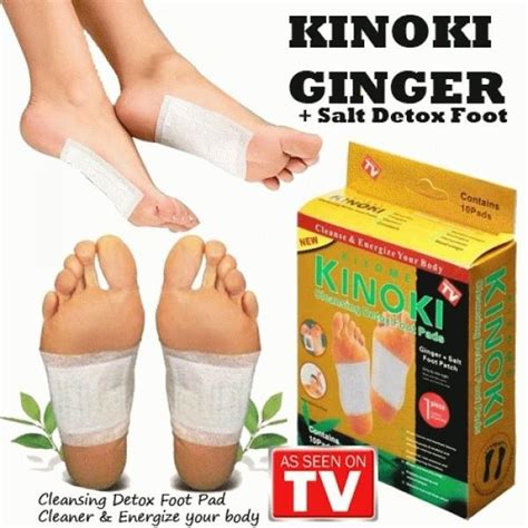 Kinoki Japanese Detox Foot Pads by Golden Kinoki Salt Cleansing D End 5 4 2017 2 15 Pm