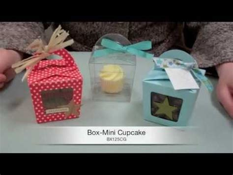 How To Make A Cupcake Box Out Of Paper - learn how to make a mini cupcake box