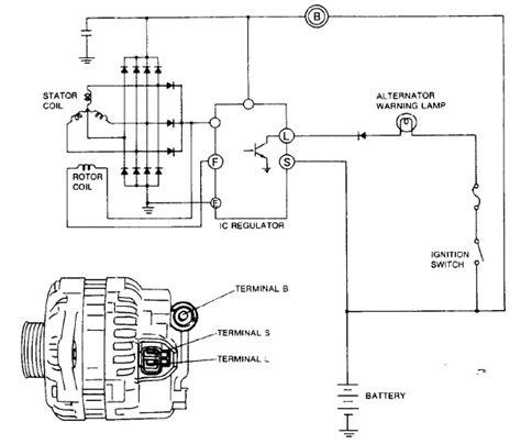 nd alternator wiring diagram circuit diagram maker