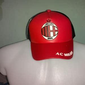 Topi Bola Ac Milan By Digisablon logo karet ac milan istana rubber