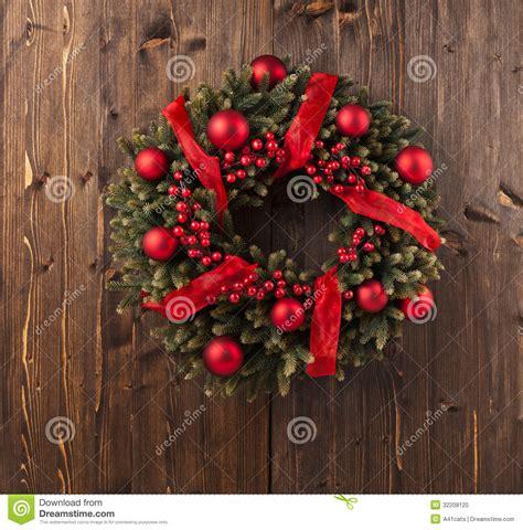 advent christmas wreath decoration royalty free stock