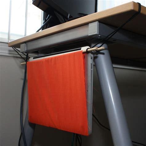 desk hammock diy diy make your own laptop hammock for a dollar ars technica