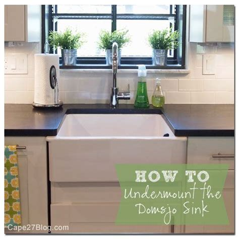ikea domsjo sink discontinued how to undermount ikea s domsjo sink ikea kitchen sink