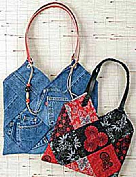 Denim Patchwork Bag Patterns Free - patchwork purse pattern by indygo junction