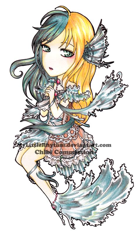 chibi mermaid lineart by kaitoucoon on deviantart chibi commission mermaid lily by silverlynx69 on deviantart