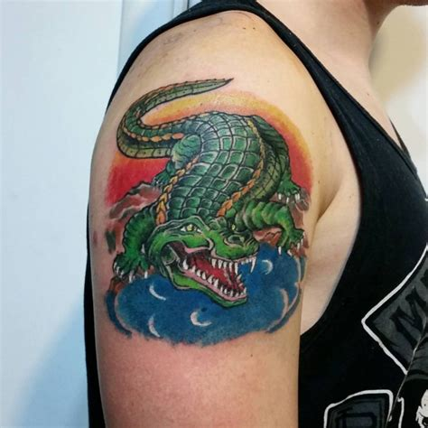 new school alligator tattoo 21 crocodile tattoo designs ideas design trends