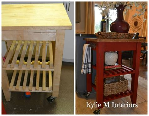ikea bekvam ikea bekvam kitchen island cart makeover with annie sloan