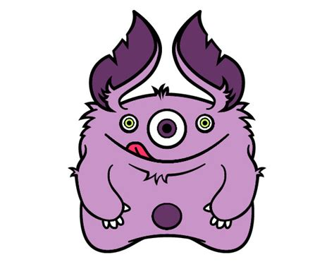imagenes de monstruos faciles para dibujar dibujo de mainly pintado por marianpm en dibujos net el