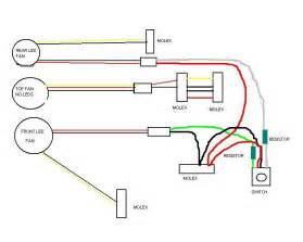 4 wire pc fan switch wiring diagram 4 wire ceiling fan wiring diagram wiring diagrams