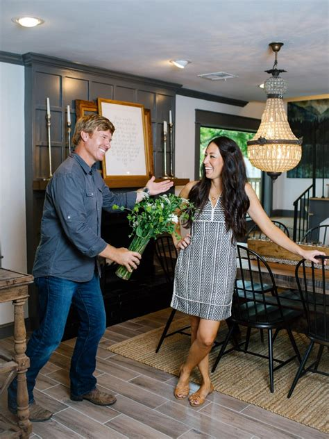 at home joanna gaines fixer upper old world charm for newlyweds hgtv s fixer