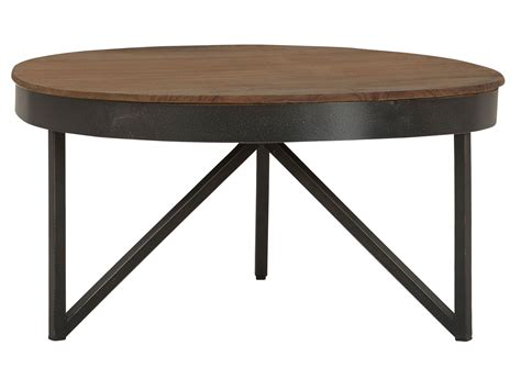 ronde salontafel hout staal salontafel hout en staal gallery of salontafel van