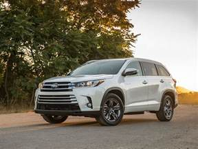 Toyota Highlander Hybrid Road 10 Best Value Hybrid Cars Autobytel