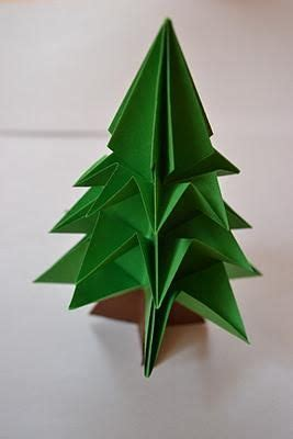 Origami Pine Tree - 42 best ideas about folding paper on nests
