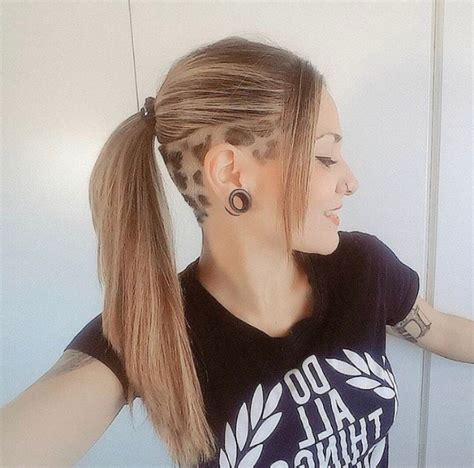 what hair types suit womens undercuts 30 female undercut hairstyles for any face shape june 2018