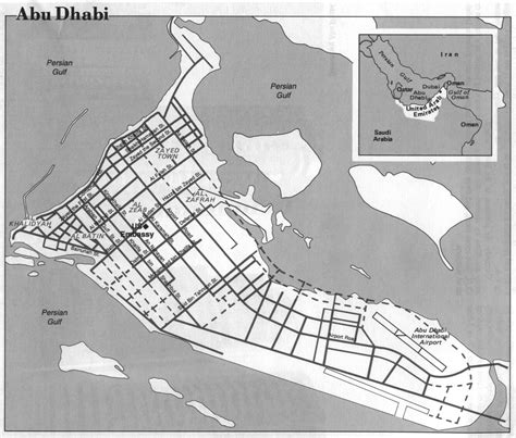 abu dhabi and dubai map united arab emirates maps perry casta 241 eda map collection