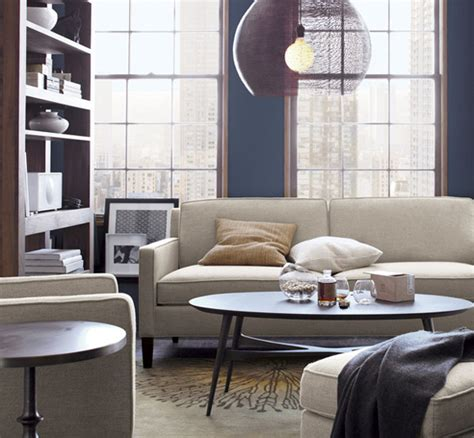 crate and barrel vaughn sofa three sofas for small spaces at home with kim vallee
