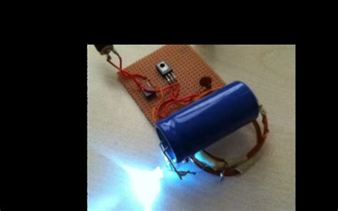 project with capacitor wireless power transfer simple and fast way 7 steps