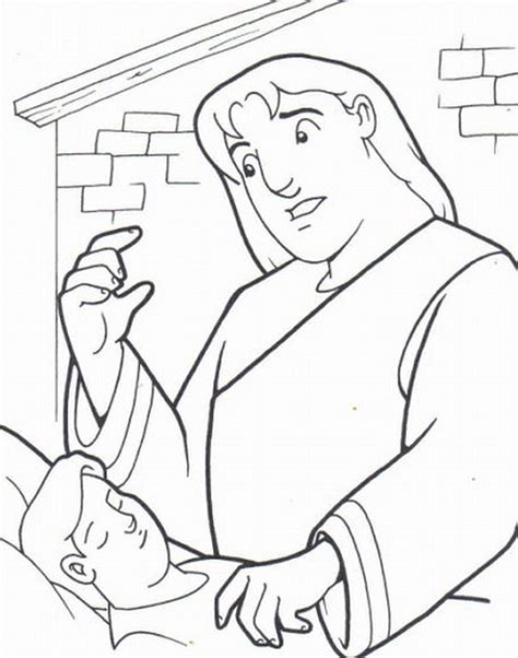 elijah and the widow coloring pages coloring pages