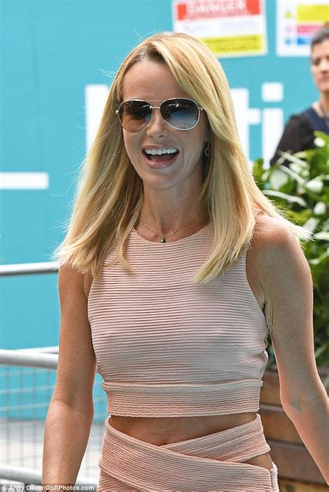 picture of amanda holden braless amanda holden flashes more than expected in abs