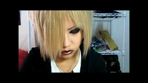 Sony Vaios Get A Hayuk Makeover by Yk Visual Kei Makeup Tutorial Ruki Inspired