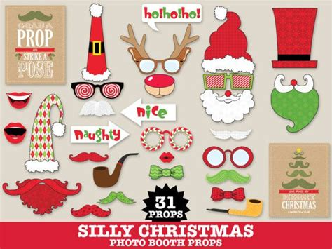 printable ugly sweater photo booth props 72 best images about simplyeverydayme photo booth props