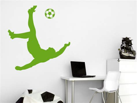 fußbank kaufen fussball kinderzimmer dekor