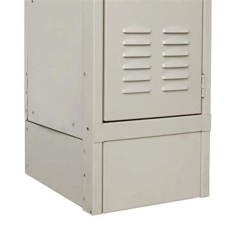 decorative locker accessory 12 quot w closed front base