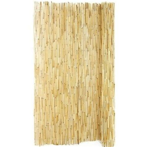 privacy fence reed bamboo fencing garden screening