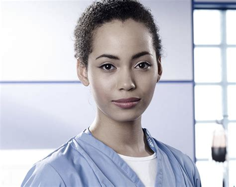 madeleine mantock madeleine mantock madeleine mantock charmed casualty actress lands big