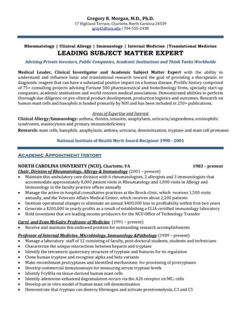 Resume Exles For Healthcare Executives executive resume sles